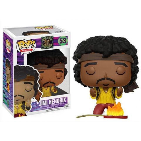 Figurine Funko Pop! N°53 - Rocks - Jimi Hendrix Monterey (exc)