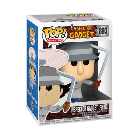 Figurine Funko Pop! N°893 - Inspecteur Gadget - Flying