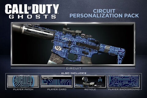 Dlc Call Of Duty Ghosts Pack Circuit Ps3/ps4