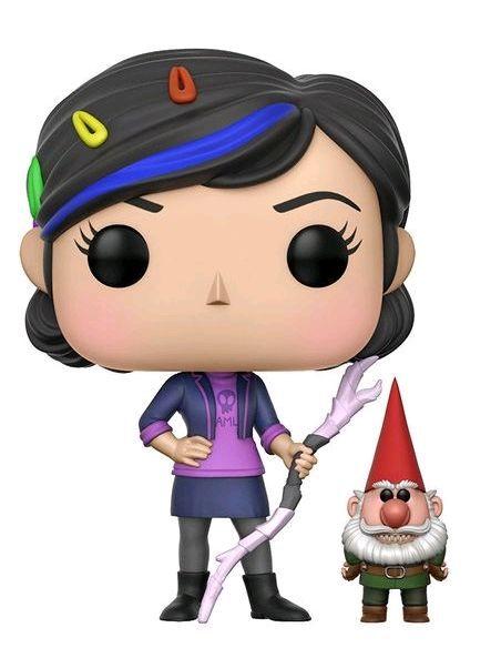 Funko POP Vinyle Troll chasseurs Claire avec Gnome
