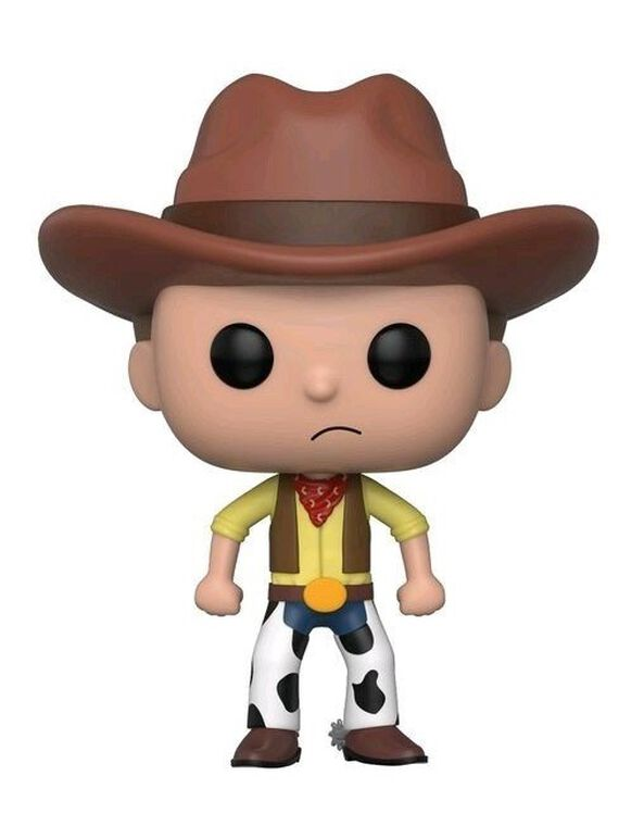 Figurine Funko Pop! N°364 - Rick & Morty - Western Morty SDCC 2018
