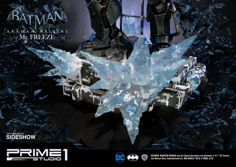Figurine Prime 1 Studio - Batman Arkham Origins -  Mr. Freeze 89 Cm