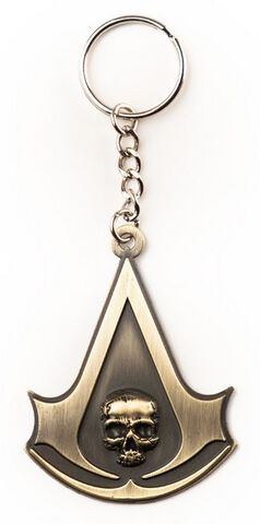 Porte-clé Assassin's Creed Black Flag 3D