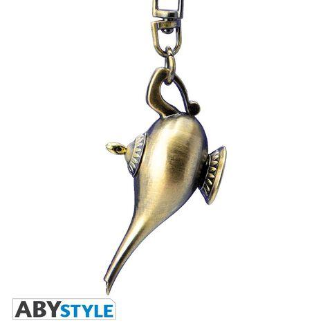 Porte-cles - Aladdin - Lampe 3d