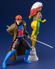 Statuette Kotobukiya Artfx - X-men - Gambit Et Malicia