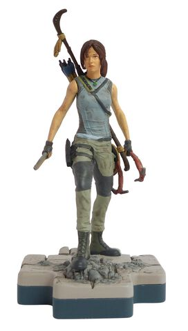 Figurine Totaku N°30 - Tomb Raider - Lara Croft - Exclusivité Micromania-Zing
