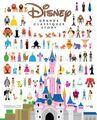 Livre - Les Grands Classiques Disney en infographie