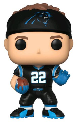 Figurine Funko Pop! N°128 - NFL : Panthers - Christian Mccaffrey
