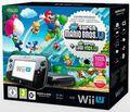 Nintendo Wii U Premium Pack Noir Mario & Luigi