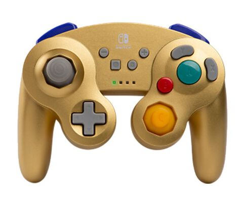 Manette sans fil - Nintendo Switch - GameCube Style Gold