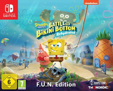 Spongebob Squarepants: Battle For Bikini Bottom - Rehydrated - F.u.n Edition
