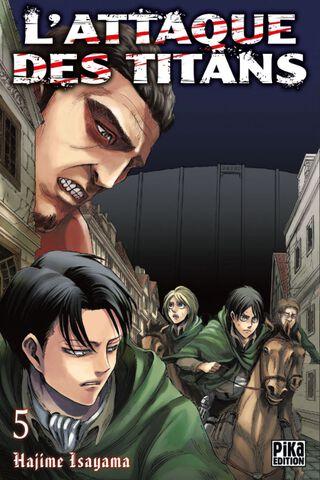 Manga - L'attaque des Titans - Tome 05