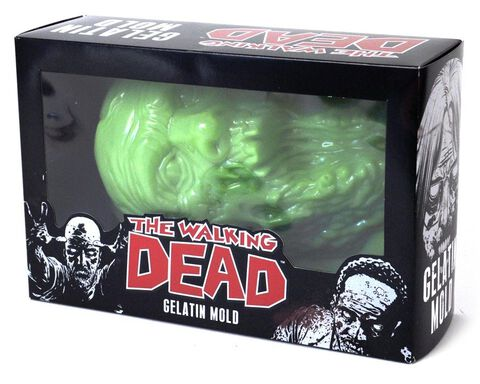Moule - The Walking Dead - Zombie Head 23 Cm