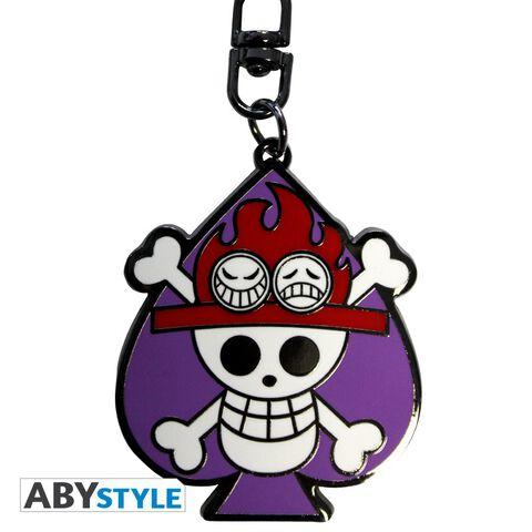 Porte-clés - One Piece - Skull Ace