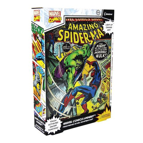 Cadre lumineux - Marvel - Luminart Spider-Man Comics
