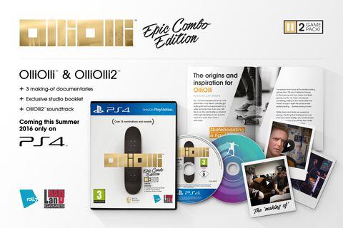 Olliolli Epic Combo Edition