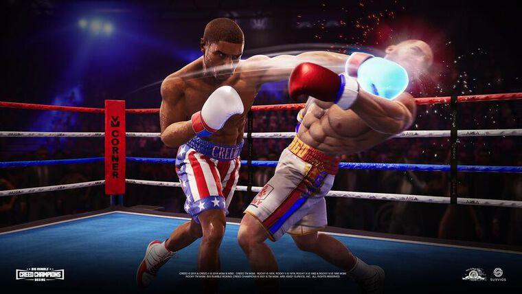 Big Rumble Boxing Creed Champions Dayone Edition