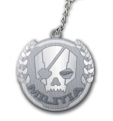 Porte-clé - Titanfall Keychain - Militia Logo