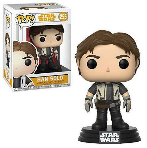 Figurine Funko Pop! N°255 - Star Wars Solo - Han Jeune