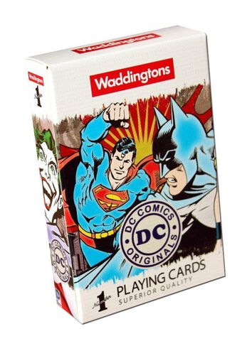 Jeu de cartes - DC Comics - Waddingtons Number 1