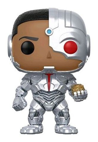 Figurine Funko Pop! N°212 - Justice League - Cyborg Avec Mother Box (exc)