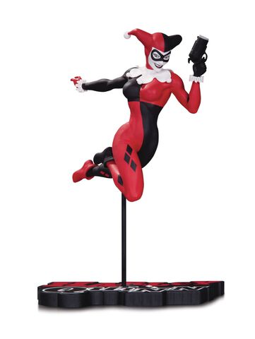 Statuette DC Collectible - DC Comics - Red, White & Black Harley Quinn By Terry