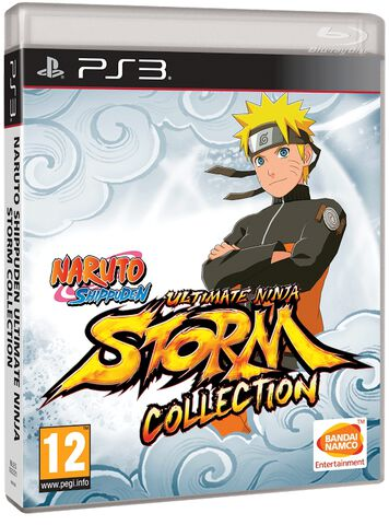 Naruto Shippuden : Ultimate Ninja Storm Collection (1+2+3 Full Burst)