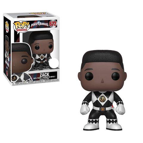Figurine Funko Pop! N°672 - Power Rangers - Ranger Noir (sans casque)