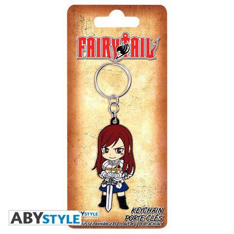 Porte-clés - Fairy Tail - Erza PVC