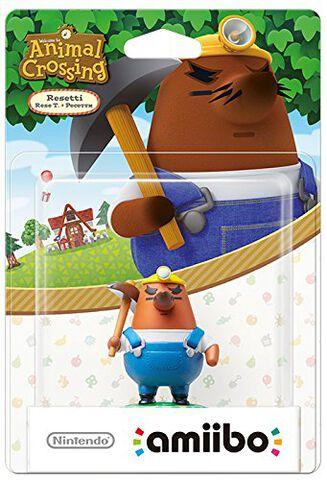 Figurine Amiibo Animal Crossing Resetti