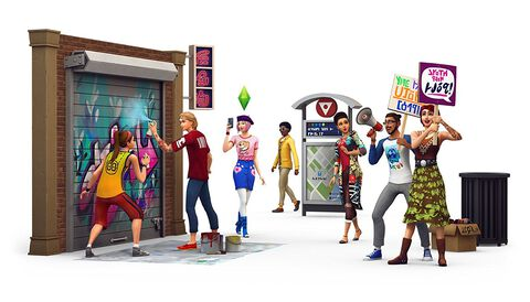 Les Sims 4 : DLC Vie citadine
