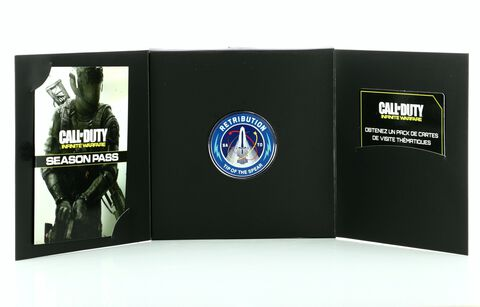 Coffret Offert Pour Season Pass Call Of Duty Infinite Warfare Ps4
