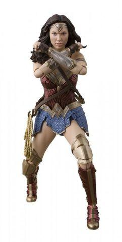 Figurine S.h. Figuarts - Justice League - Wonder Woman