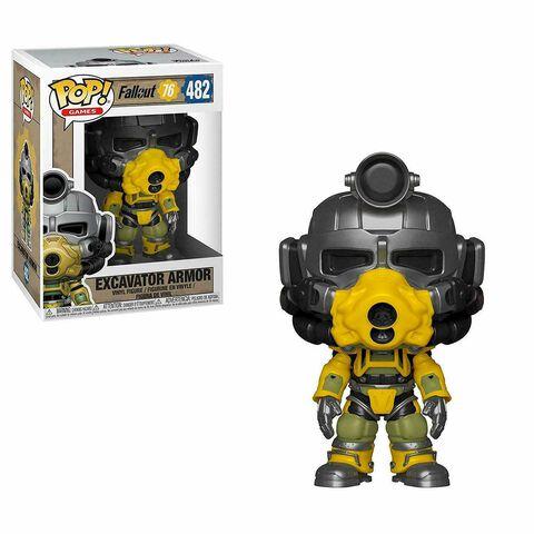 Figurine Funko Pop! N°482 - Fallout 76 - Excavator Armor