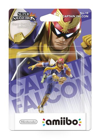 Figurine Amiibo N°18 Smash Captain Falcon
