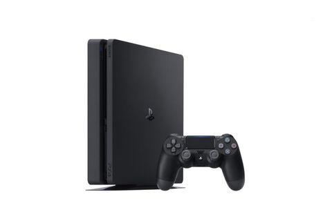 Pack Ps4 Slim 1to Noire  + 2nde Ds4 V2