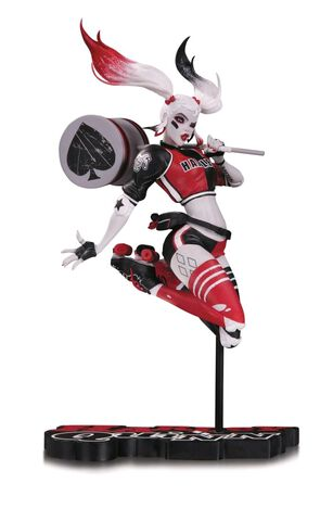 Statuette DC Collectibles - Batman: Black and Red - Harley Quinn Statue par Babs
