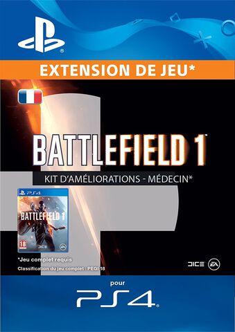 DLC - Battlefield 1 Kit Améliorations Médecin - PS4
