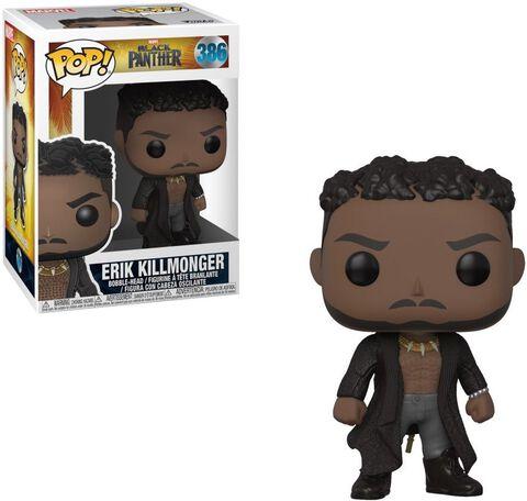 Figurine Funko Pop! N°386 - Black Panther - Erik Killmonger Avec Cicatrices