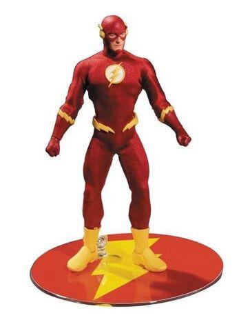 Figurine Mezco Toys - Dc Universe - The Flash  1/12