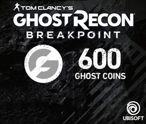 Ghost Recon Breakpoint - Dlc - 600 Ghost Coins