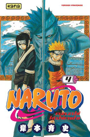 Manga - Naruto - Tome 4