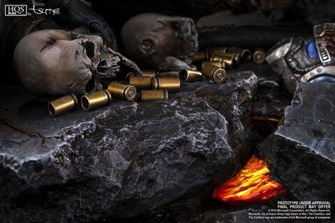 Statuette Tsume - Gears of War - Marcus Vs General Raam
