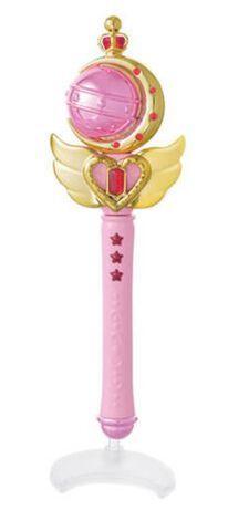 Réplique - Sailor Moon - Stick et Rod Cutie Moon - 15 cm