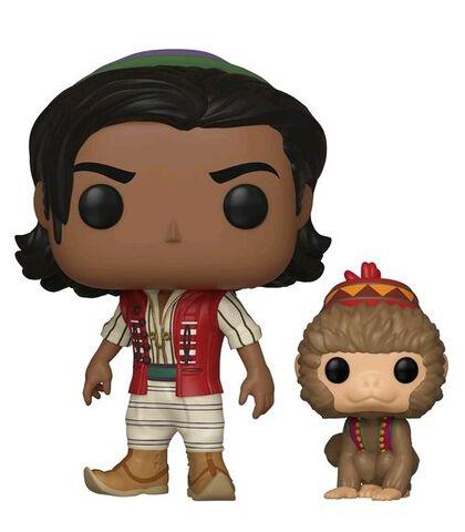 Figurine Funko Pop! N°538 - Aladdin - Aladdin et Abu