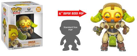 Figurine Funko Pop! N°352 - Overwatch - S4 Orisa - 15 cm