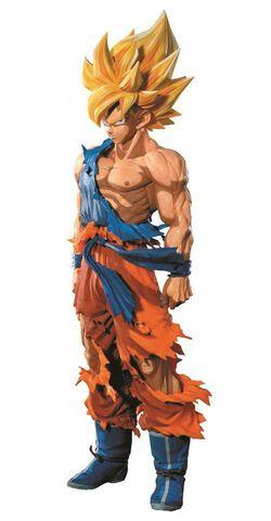 Statuette Super Master Stars Piece - Dragon Ball Z - Son Goku 29 cm