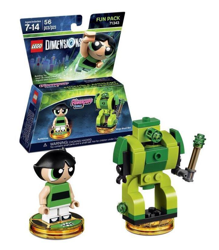 LEGO Buttercup Powerpuff Girls Minifigure 71343 Dimensions NEW