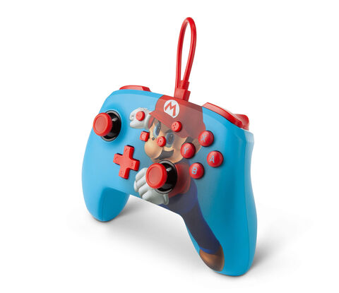 Manette Filaire Switch Mario Punch