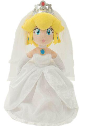 Peluche - Super Mario Odyssey - Peach Wedding 40 cm
